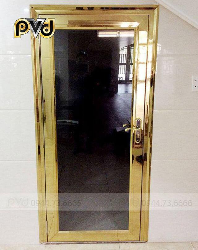 Cửa sử dụng công nghệ mạ PVD bền đẹp