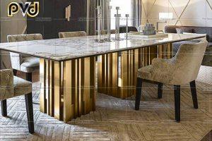 Hướng dẫn tìm xưởng gia công bàn ăn inox mạ vàng chất lượng cao