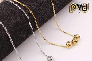 Có nên lựa chọn các mẫu sản phẩm dây chuyền inox mạ vàng giá rẻ không?