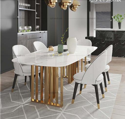 Bộ bàn ghế ăn trang trí phòng bếp