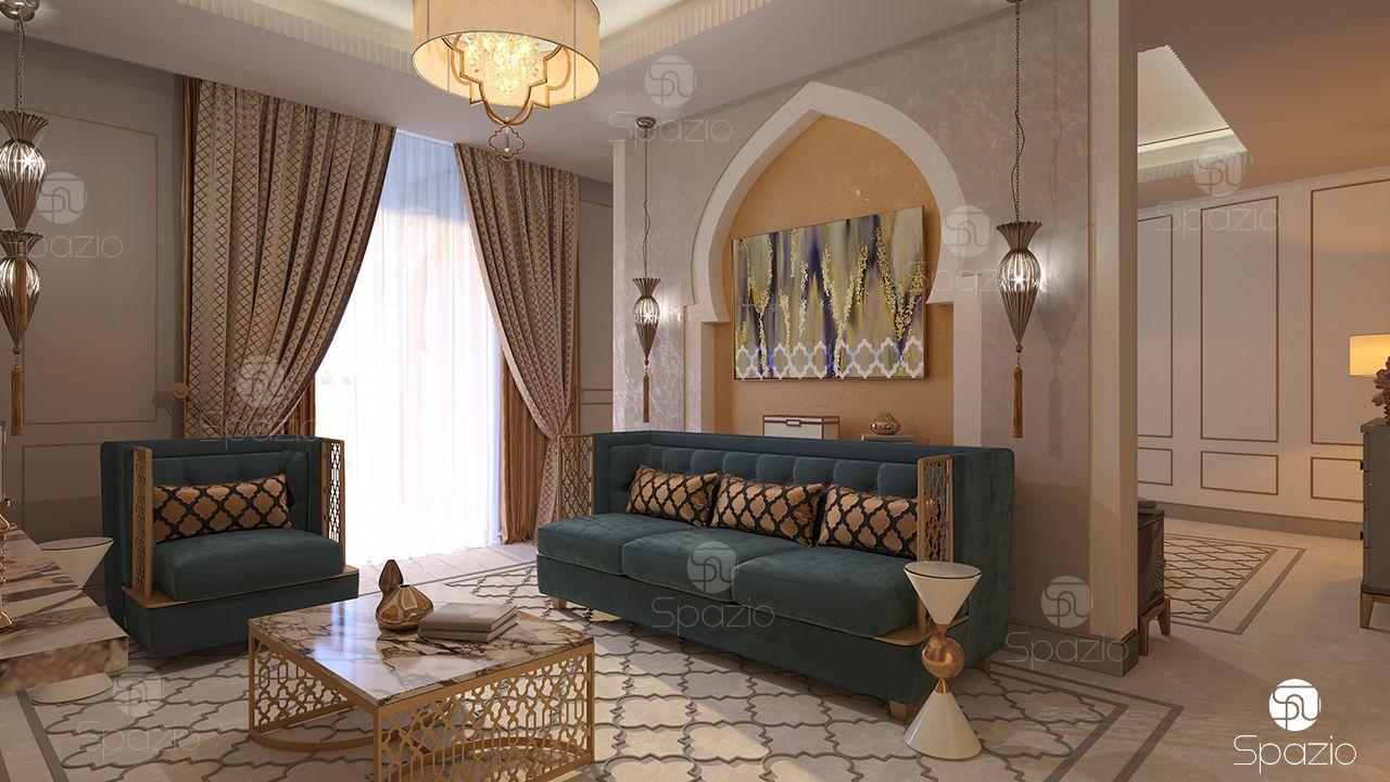 trang trí phòng khách chung cư hiện đại