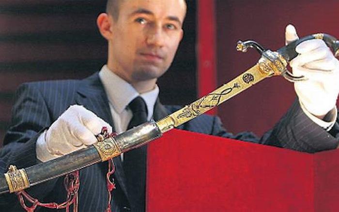 Thanh kiếm đắt nhất thế giới