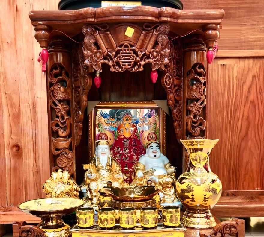 hình ảnh bàn thờ ông địa đẹp