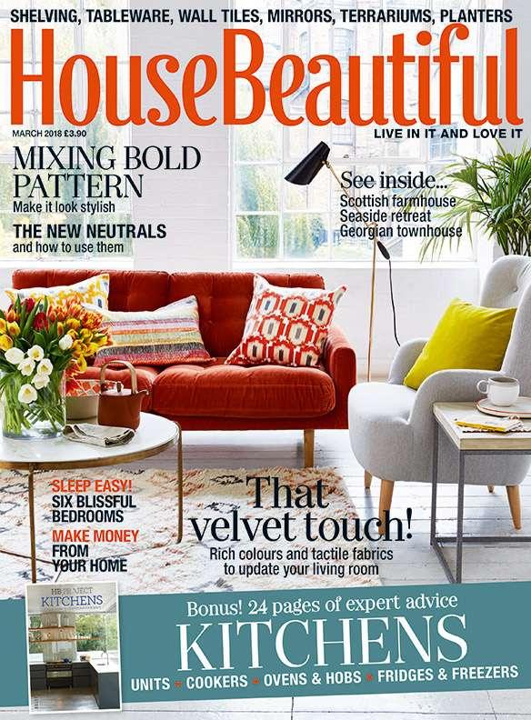 Tạp chí nội thất nổi tiếng House Beautiful
