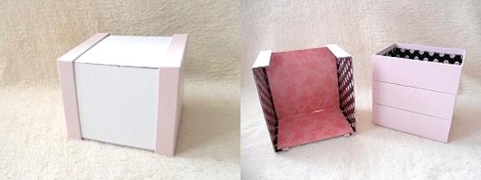 làm hộp đựng đồ trang điểm