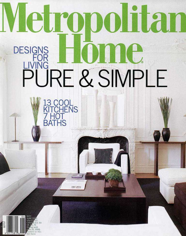 tạp chí nội thất Metropolitan Home Magazine