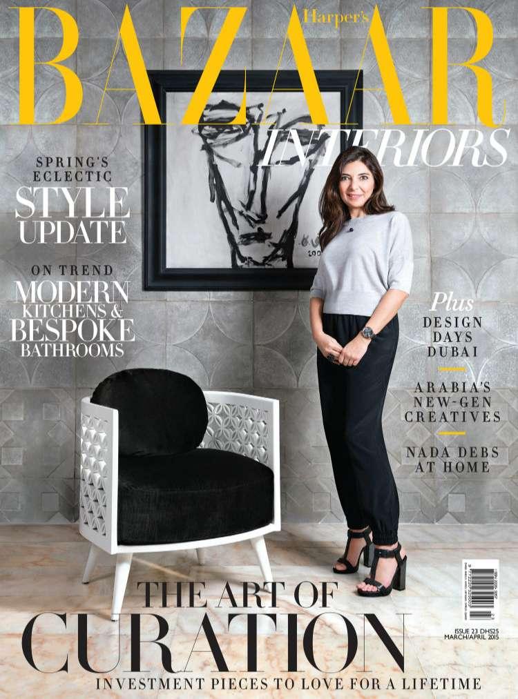 tạp chí nội thất nổi tiếng Harper's Bazaar Interiors