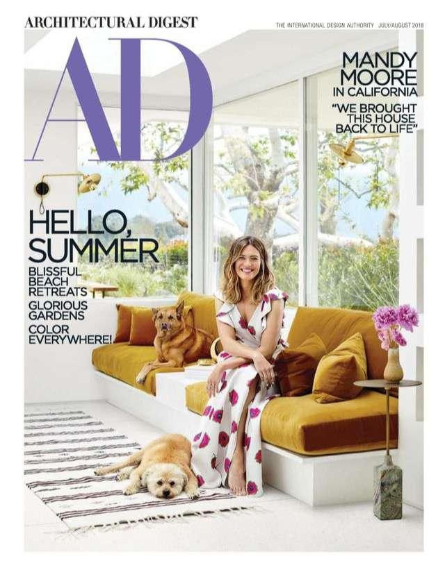 tạp chí nội thất nổi tiếng thế giới - Architectural Digest